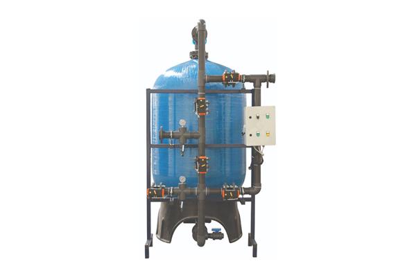 Tam Otomatik Yüzey Borulamalı Aktif Karbon Filtrasyon Sistemii