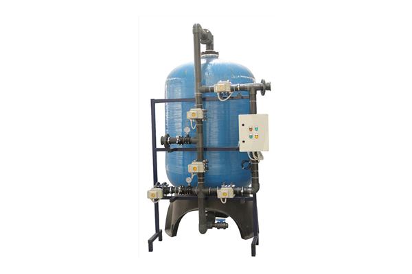 FRP Tam Otomatik Yüzey Borulamalı Kum Filtrasyon Sistemleri